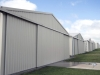 Series of aircraft hangars, Kyneton VIC