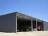 Farm/Machinery shed with open bays - VIC