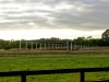 Horse arena with gable roof - Mornington, Vic
