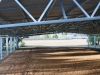 Horse riding arena, steel building gable roof - Northern Victoria