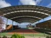 Curved cola with skylights circular columns - Southern, Vic