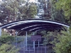 Curved Roof Covered Outdoor Learning Area - Dandenong, VIC