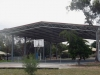 Gable roof-only building over school court - Hopetoun, North-Western Victoria