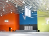 Indoor school sports centre, with gable roof - Victoria