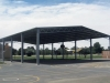 School sports court shelter, with gable roof - Victoria