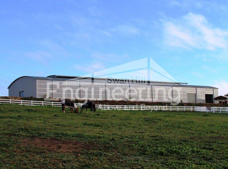 Horse Arenas Amp Dressage Arenas Swan Hill Engineering
